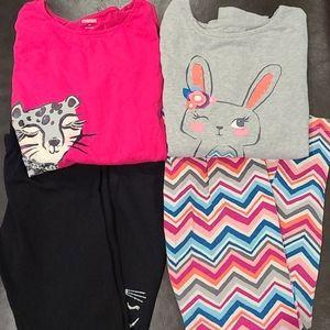 Girls Gymboree Matching Sets - Size 10 - 12